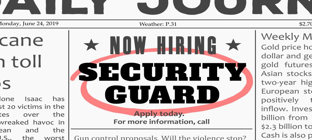 Top 10 Reasons Why You Need to Hire a Security Guard