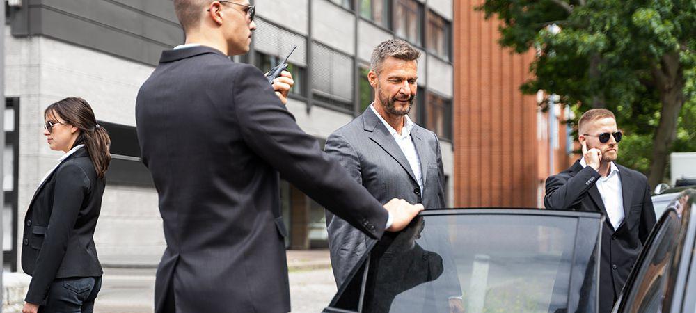businessmen need bodyguards